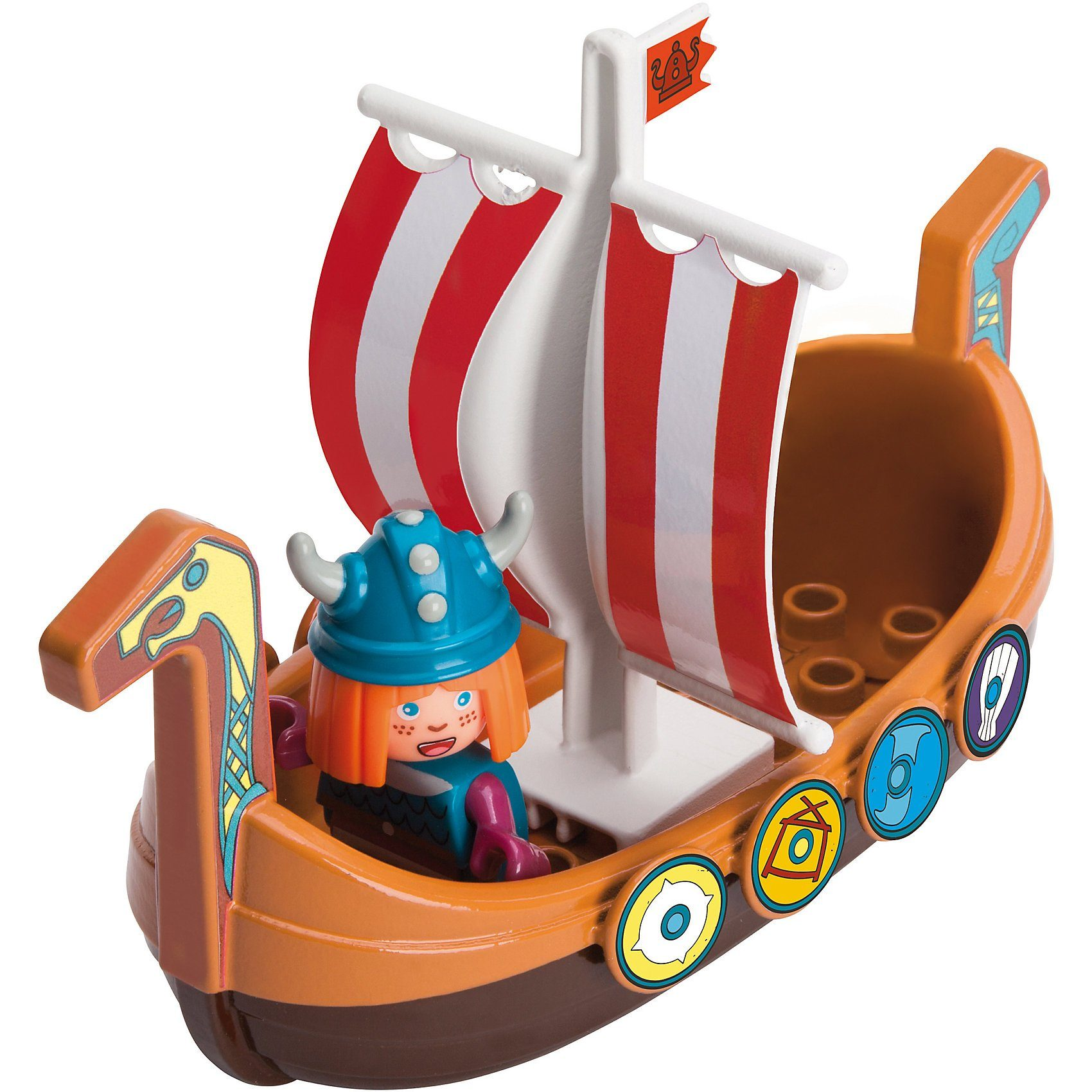 BIG Waterplay Wickie Drachenboot, 20 cm